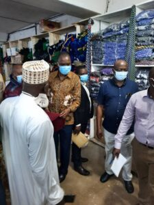 Ministry of Finance Director Visits Kiyembe Traders over Textiles Tax Increment